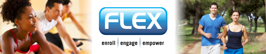 Banner:Flex Logo:  Enroll, Engage, Empower